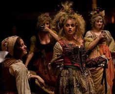 Helen Bonham Carter as Madame Thenardier, Les Miserables movie - loved her two hander with Sacha Baron Cohen