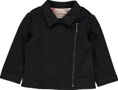 Burberry Milano Baby Cardigan Noir `18 months Fabrics : fleeced cotton sheet Details : Straight cut, Shirt collar, Long sleeves, Side zip, Shoulder tabs Made in : Bulgaria Composition : 33% Cotton, 33% Modal, 31% Polyamide, 3% Elastane http://www.comparestoreprices.co.uk/january-2017-7/burberry-milano-baby-cardigan-noir-18-months.asp