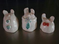 """Pottery """"rabbits"""""""