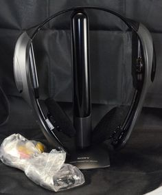 NEW Sony MDR-IF210 Stereo #Headphones w/ TMR-IF310 IR #Transmitter System #Sony