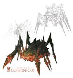 Copernicus Art - Arania, Spider-Mount by *nicholaskole on deviantART