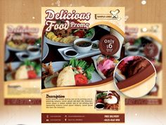 Healthy Food Flyer Template Psd   Restaurant And Food Flyer