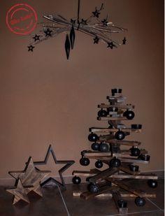 Silke Rudat, der deutsche Blog: alternativer weihnachtsbaum aus holz