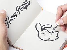 Happy Rabbit by Afanur Rashid