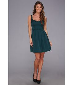 French Connection Sassy Sarah 71ANG Dress Jewel Green - Zappos.com Free Shipping BOTH Ways