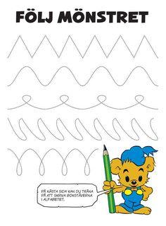 The Alphabet - Bamse.se The Alphabet – Bamse. Activity Games For Kids, Educational Activities For Kids, Fun Activities, Kids Learning, Learning Letters, Really Fun Games, Alphabet, Spider Crafts, Montessori Materials