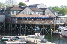The Fish House Grill in Bar Harbor, Maine
