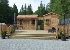 ranchhouse plus gardener shed combined