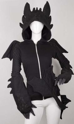 TOOTHLESS HOODIE <3 I want this