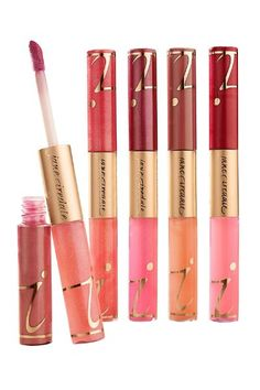 jane iredale Lip Fixation Stain & Gloss This two-sided lip duo from jane iredale does double-duty, combining the staying power of a stain with the hydration of a gloss. Brimmi
