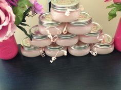 Sugar scrub. Girls baby shower