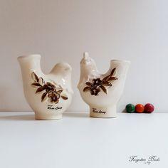 DECO Torekov Keramik Helsingborg Rooster and Hen Figurine Designed by Rosa Ljung Scandinavian / Mid Century / Retro / Modern by ForgottenBirds on Etsy