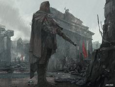 World War 2 Series - Gunman: Step by step, James Paick on ArtStation at https://www.artstation.com/artwork/world-war-2-series-gunman-step-by-step