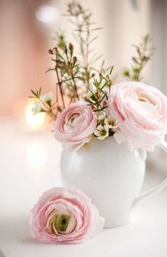 You Don't Send Me Flowers Anymore...Pink Ranunculus