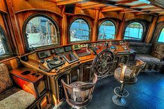 The Peacemaker; a modern take on the old sailing ship.