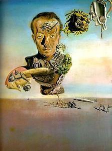 Salvador Dali - Paul Eluard 1929