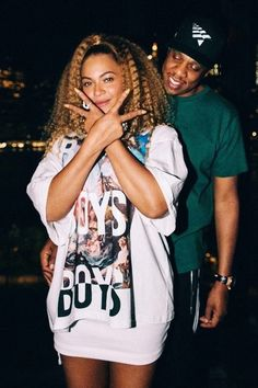 Beyonce and jay z Style Beyonce, Beyonce And Jay Z, Jay Z Solange, Black Love, Black Is Beautiful, Beautiful People, Black Couples Goals, Cute Couples, Hip Hop Fashion
