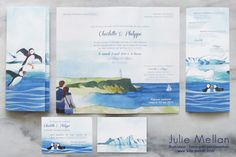 Faire-part de mariage Islande, Wedding invite Iceland