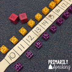 Primarily Speaking: A Fun {and Easy} Math Game