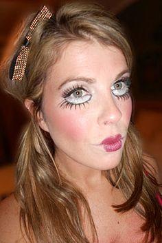 BabyDoll Halloween makeup