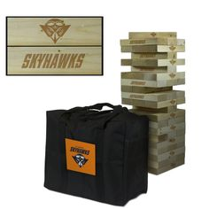 Tennessee Martin Skyhawks Tumbling Tower Tailgate Lawn Game