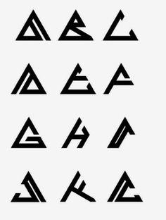 Logotipo Typo Logo Design, Logo Design Samples, Minimal Logo Design, Branding Design, Alphabet Symbols, Typography Alphabet, Typography Logo, Interior Design Vector, Initials Logo