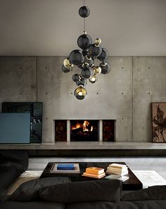 Atomic Sculptural Pendant Chandelier | DelightFULL