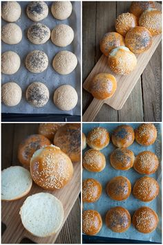 bułki śniadaniowe Bread Recipes, Cooking Recipes, Healthy Recipes, Healthy Food, Good Food, Yummy Food, Easy Meals, Food And Drink, Rolls