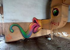 See amazing street art, graffiti art, wall murals & great urban art from street artists all over the world including Escif, ROA, Banksy & Obey 3d Street Art, Street Art Utopia, Best Street Art, Amazing Street Art, Street Artists, Amazing Art, Street View, Graffiti Art, Illustrations