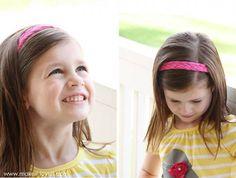 kız çocuğu saç bandanası