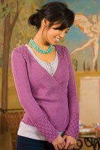Silk Cocoon Cardigan - Media - Knitting Daily