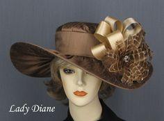 Kentucky Derby Dress Hats, Derby Hats, Fashion Hats - Lady Diane Hats