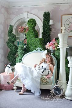 Alice In Love, A Gorgeous Wedding Shoot At Maclean House - Rachel A. Clingen Wedding Design and Decor