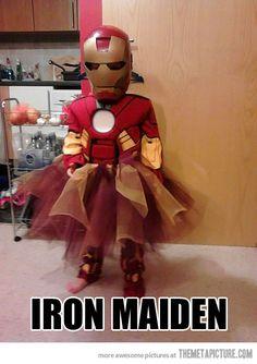 Funny kids costumes: Iron Maiden (nice clash of concepts!) funny ellen degeneres quotes Ellen's Favorite Moments: The Hawaii Chai.