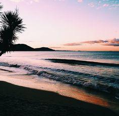 Ocean Waves At Sunset photography sunset beach beautiful ocean tropical travel palm trees vacation Beautiful World, Beautiful Places, Beautiful Ocean, Wonderful Places, The Beach, Sand Beach, Foto Art, Summer Vibes, Summertime