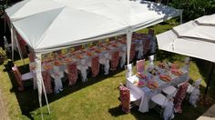 Cherry blossom theme backyard engagemet party Cherry Blossom Theme, Backyard, Patio, Gazebo, Birthdays, Outdoor Structures, Events, Outdoor Decor, Diy