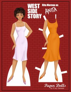 anita (west side story) | paper dolls by cory