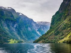 What it is: Situated in southwestern Norway, Geirangerfjord and Nærøyfjord (pictured) are among the world's longest and deepest fjords. Their beautiful landscapes feature numerous waterfalls, glacial lakes, and forests.