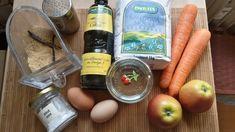 ● Mrkvovo-jablečné muffiny :: Co bude dnes k snídani ☆ (cukru stačí 60g)