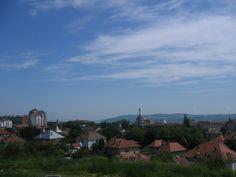 Skyline of Alba Iulia, Romania Twin Cities, Seattle Skyline, Romania, Clouds, Country, City, Travel, Outdoor, Mai