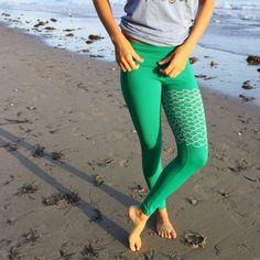 mermaid II yoga leggings   purusha people