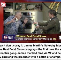 James Martin, Food Shows, Choice Awards, Award Winner, First Time, Adventure, Adventure Movies, Adventure Books