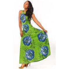 Roxy African Batik Dress by JESSIQUE