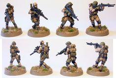 Hasslefree Miniatures Modern Troopers