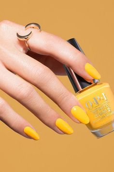 Yes, Yellow Nail Polish Can Be Chic for Your Summer Getaways.. get some ideas #Nail #Yellow #Summer