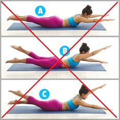 "Excercises to avoid with Spondylolisthesis | ""Swimming"" Pilates"