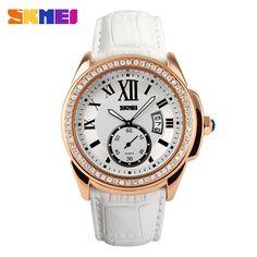 3aa7b57cbc7f3 Ikeacasa Watch Women Fashion Casual Quartz Watches Diamonds Leather Strap  Sport Ladies Dress Wristwatches Clock Feminino Relogios - FREE SHIPPING