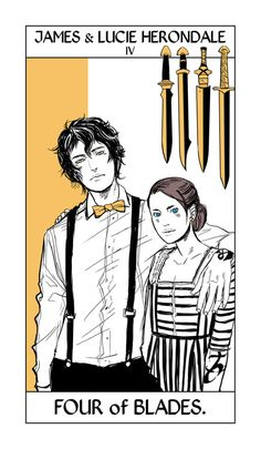 James & Lucie Herondale - TLH  (new shadowhunter series that takes place around 1903, right after TID)