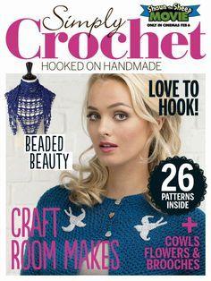 Simply Crochet Issue 27 2015 - 轻描淡写 - 轻描淡写