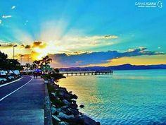 Avenida Beira Mar Norte - Florianópolis - SC Curta ❤